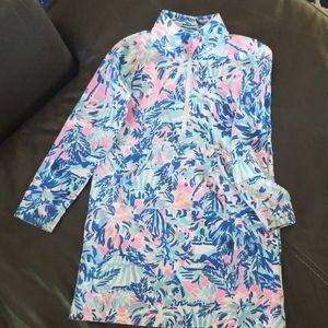 Lilly Pulitzer popover dress Girls M